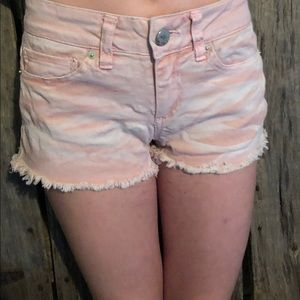 No boundaries Pink Jean shorts